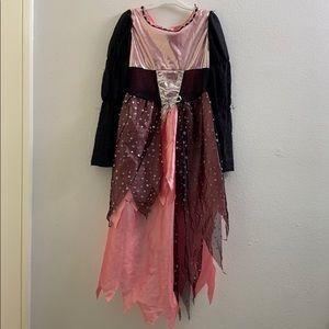 Pink/Black dress Play Costume Girls Size 4-6x